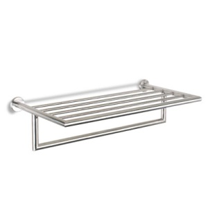 Voga Industries Classic Design Plaza Collection Towel Shelf Stainless Steel